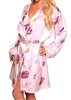 Lovely Day Lingerie Floral Print Ladies Robe